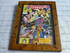 15by19 Framed official Print Comic book art Cover GUARDIANS OF THE GALAXY #1