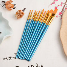 10pcss Artist Paint Brushes Set Art Painting Supplies and Oil Painting New