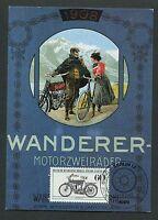 BERLIN MK 1983 MOTORRÄDER WANDERER MOTORCYCLE CARTE MAXIMUM CARD MC CM d7046