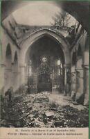 Vintage Lot 5  Postcard Bataile Of de la Marne Battle of Marne Paris 1914 WW1