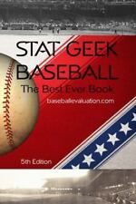 Stat Geek Baseball, the Best Ever Book (Paperback or Softback)