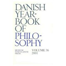 Danish Yearbook of Philosophy, 2001 - Paperback NEW C. Finn 2002-07-10