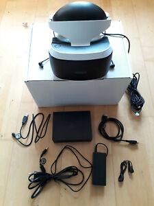 Sony PlayStation 4 VR Headset - PS4 VR Brille + komplettes Zubehör. Neue Version