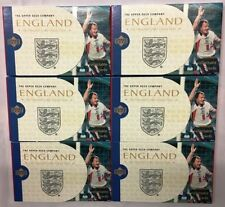 England Football Trading Cards 1998 Season
