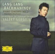 1 CENT CD Rachmaninov: Piano Concerto No. 2; Paganini Rhapsody