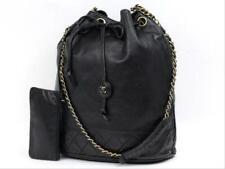 Chanel Cubo de Cadena De Cordón Acolchado Con Bolsa 213220RL