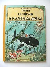 HERGÉ . TINTIN : LE TRÉSOR DE RACKHAM LE ROUGE . CASTERMAN . 1960-61 . B29