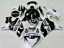 Fit for CBR1000RR 2008-2011 REPSOL Black White ABS Injection Mold Fairing Kit