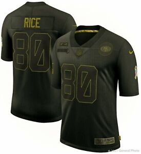 Men's Nike NFL San Francisco 49ers Salute to Service Jerry Rice Jersey [Sizes]