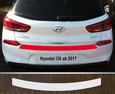 Ladekantenschutz Lackschutzfolie transparent Hyundai i30, ab 2017