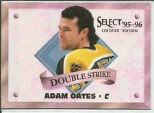 95-96 Select Certified Double Strike Adam Oates 1/1975 #5 Bruins Insert