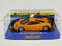 Slot Car Scalextric Superslot H4102 Mclaren F1 GTR Papaya Orange