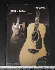 05653 YAMAHA 2009-2010 Guitars and Basses Catalogue from Japan