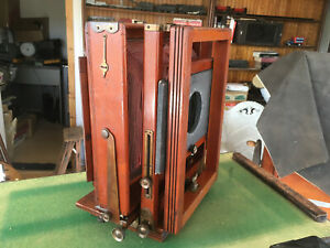 Eastman Improved #2 7X11 Format View Camera Fantastic Golden Mean Kodak 2D 8X10!