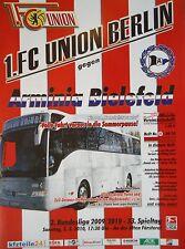 Programm 2009/10 Union Berlin - Arminia Bielefeld