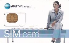 AT&T MOBILE SIM CARD MINT UNUSED,//FOR COLLECTORS ONLY///