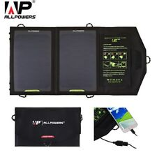 ALLPOWERS 10W Silicon Solar Panel Water Resistant Folding Charging Bag