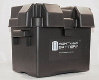 Mighty Max Universal Plastic Battery Box Group 24 Boat RV Marine Trailer