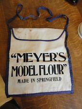 "RARE ""Meyer's Model Flour, Made In Springfield (MO)"" Bag (To Carry Flour Home)"