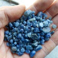 100g  natural rough sapphire crystal mineral corundum