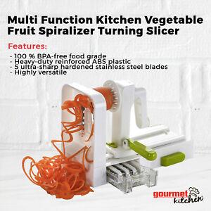 Multi-Function Heavy Duty Kitchen Vegetable Fruit Spiralizer Turning Slicer