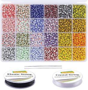 Mostacillas para bisuteria chaquiras chaquira beads manualidades 9600 PCS kit