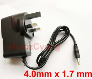 UK AC 100V-240V DC 5V 1.5A 2A Switching Power Supply Adaptor plug 4.0mm x 1.7mm