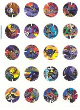 BATMAN VINTAGE Complete set 40 Vuela Tazos Toys Collection Pogs Figures CARDS