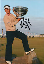 Nick DOUGHERTY SIGNED 12x8 Photo AFTAL Autograph COA Alfred Dunhill Links Winner