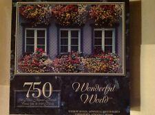 """jigsaw puzzle750pc Wonderful World""""WINDOW BOXES""""Appenzell,Switzerland 12+Unisex"""