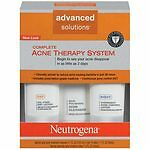 Neutrogena : Advanced Solutions Complete Acne Therapy System : Exp 2017