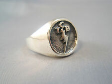 Elvis Tcb on tour Ring Solid Sterling Silver 925 All Size Available