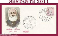 ITALIA FDC ROMA 1978 ANTONIO MEUCCI ANNULLO COMO G808