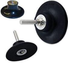 ROLOC™ Stützteller 50 Schaft 6,3mm für CSD+Nylon+Vlies+Schleif-Scheiben 50+75 mm