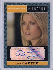 Heroes season 2  Ali Larter auto card