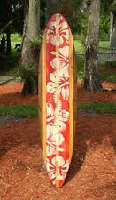 Vintage Style 6 foot Longboard Wooden Surfboard Art New