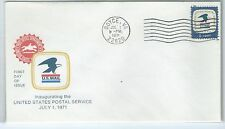 First day of Issue U.S. Mail stamp envelope sealed Boyce, VA  8 cents