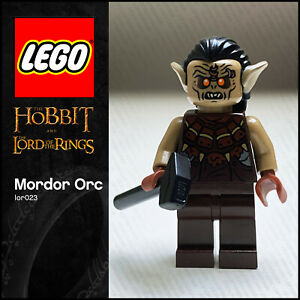 GENUINE LEGO Hobbit Lord of the Rings Minifigure Mordor Orc lor023 79002