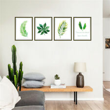 Nordic Leaves Plant Room Home Decor Removable Wall Sticker Decal Decoration