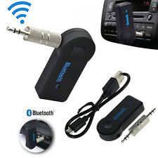 Car AUX Bluetooth Wireless Stereo Audio Music Receiver 3.5mm Adapter For iPhone