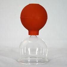 Schröpfglas Schröpfgläser mit Saugball Feuerlos medizinisch Schröpfen NEU