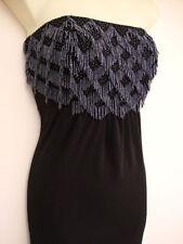 MONSOON ORIGINALS PALOMA BLACK MAXI LONG DRESS 12 rrp=£200