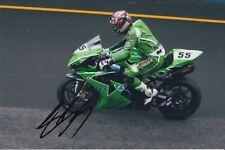 Regis Laconi Hand Signed 9x6 Photo - MotoGP Autograph 1.