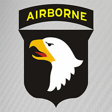 US Army 101st Airborne Division Patch Vinyl Graphics Decal Sticker Car Window