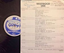 RADIO SHOW: LIVE FROM GILLEY'S  SHELLY WEST AND DAVID FRIZZEL 5/21/83 13 TUNES