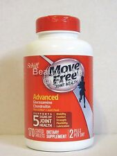 Schiff Move Free Advanced Triple Strength Glucosamine Chondroitin 170 Tablets