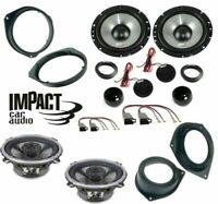 Impact EF65S EF40X Set 6 Arcas Opel Astra H Corsa D Conn / Brkt Altavoces Coche