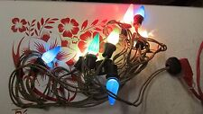 Old C-6 Christmas Tree Light String Tested  No. 6