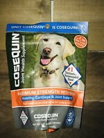 Cosequin Max Strength Joint Soft Chews+ Omegas W/ MSM 60 Chews 2022-23 All Dogs