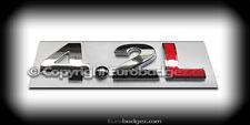 1 - NEW vw audi 4.2L volkswagen jetta gli rear chrome badge emblem (4.2L)